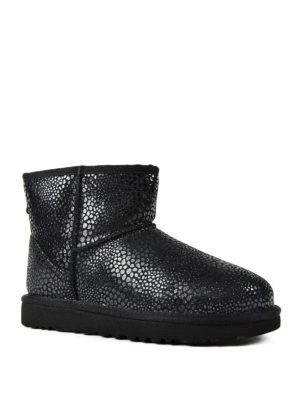 Ugg: ankle boots online - Mini Glitzy black shiny booties