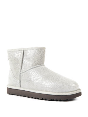 Ugg: ankle boots online - Mini Glitzy grey shiny booties