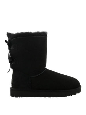 UGG: stivali - Stivaletti Bailey Bow II neri