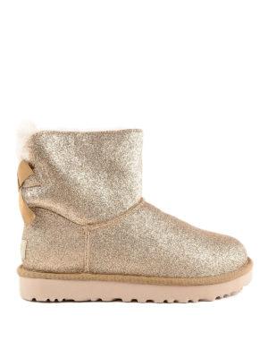 UGG: stivali - Stivaletti morbidi glitterati con fiocco