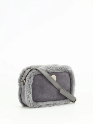 Ugg: cross body bags online - Bailey suede cross body bag