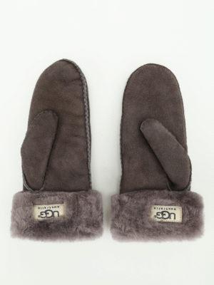 Ugg: gloves online - Shearling mittens
