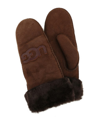 Ugg: gloves - Shearling mittens