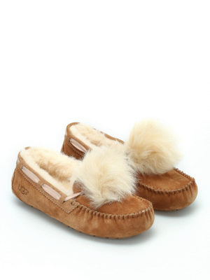 Ugg: Loafers & Slippers online - Dakota Pom Pom slippers