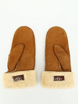 UGG: guanti online - Muffole in montone
