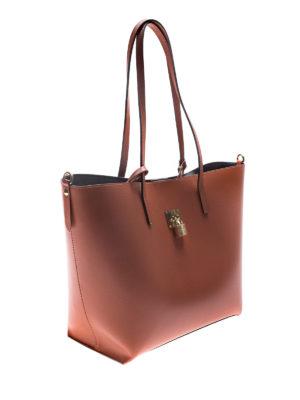 V°73: shoulder bags online - 3X550 brown shoulder bag with pouch