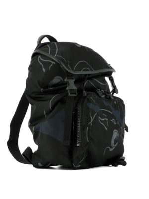 Valentino: backpacks online - Camupanther multi pocket backpack