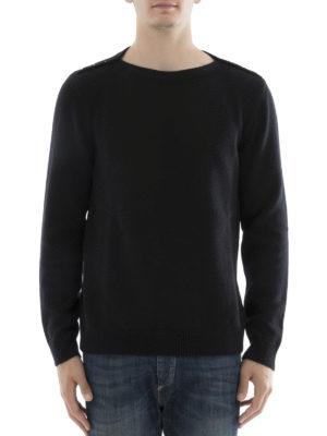 Valentino: boat necks online - Rockstud Untitled cashmere sweater