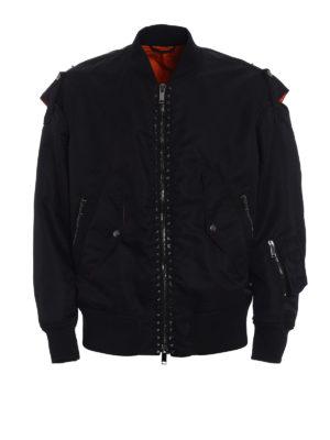Valentino: bombers - 15. Rockstud Untitled bomber jacket