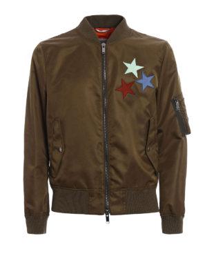 Valentino: bombers - Jamie Reid embroidery bomber jacket