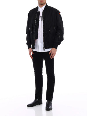 Valentino: bombers online - 15. Rockstud Untitled bomber jacket