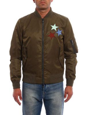 Valentino: bombers online - Jamie Reid embroidery bomber jacket