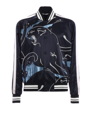 Valentino: bombers - Souvenir Panther bomber jacket