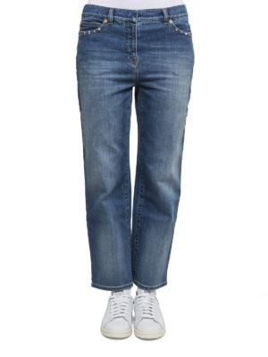 Valentino: Boyfriend online - Rockstud boyfriend jeans