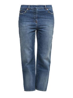 Valentino: Boyfriend - Rockstud boyfriend jeans