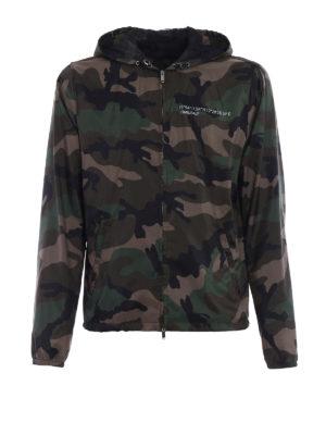 Valentino: casual jackets - Always nylon camouflage jacket