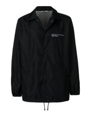 VALENTINO: giacche casual - Giacca a vento con scritta Anywhen