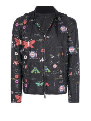 VALENTINO: giacche casual - Giacchino impermeabile videogame Arcade