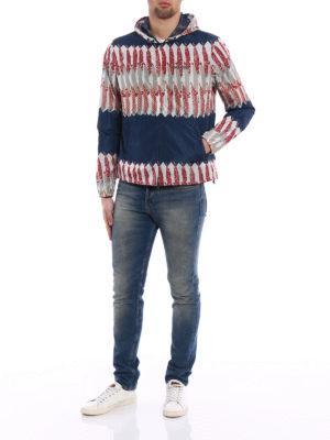 Valentino: casual jackets online - Zandra Rhodes print windbreaker