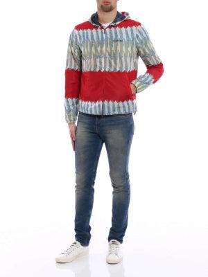 Valentino: casual jackets online - Zandra Rhodes printed windbreaker