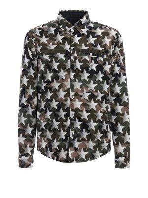 Valentino: casual jackets - Reversible Camustars jacket