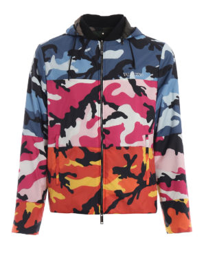 VALENTINO: giacche casual - Giacca pop camouflage reversibile