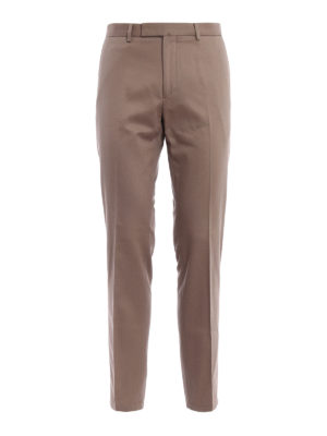 Valentino: casual trousers - Cotton drill chino trousers