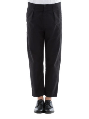 Valentino: casual trousers online - Cargo crop trousers
