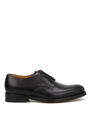 Valentino: classic shoes - Glossy leather classic shoes