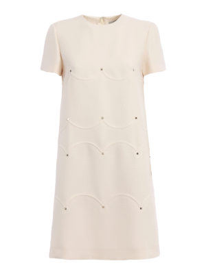 Valentino: cocktail dresses - Crepe Couture studded dress