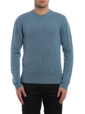 Valentino: crew necks online - Cashmere crew neck sweater
