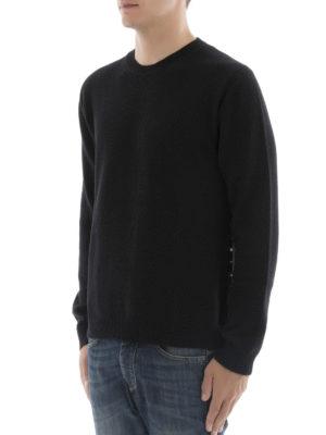 Valentino: crew necks online - Rockstud Untitled cashmere jumper