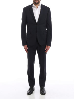 Valentino: formal suits online - Wool and mohair blend classic suit