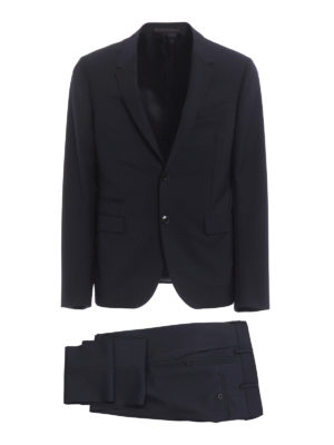 Valentino: formal suits - Wool and mohair blend classic suit