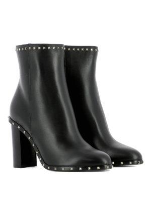 Valentino Garavani: ankle boots online - Soul Rockstud heeled booties