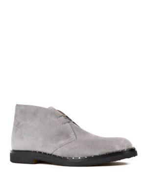 Valentino Garavani: ankle boots online - Suede desert boots