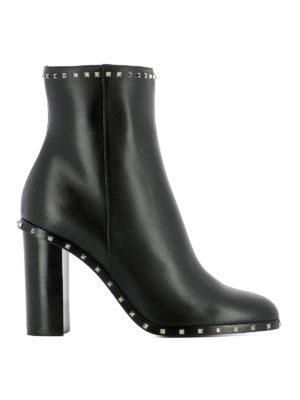 Valentino Garavani: ankle boots - Soul Rockstud heeled booties