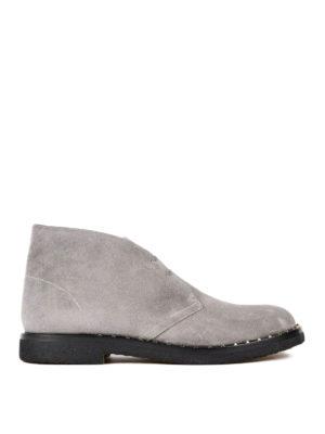 Valentino Garavani: ankle boots - Suede desert boots
