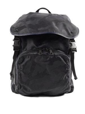 Valentino Garavani: backpacks - Camouflage  backpack