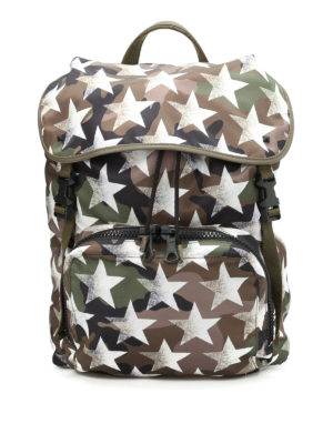 Valentino Garavani: backpacks - Camustars nylon backpack