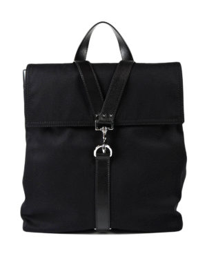 Valentino Garavani: backpacks - Light canvas backpack