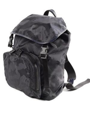 Valentino Garavani: backpacks online - Camouflage  backpack