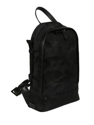 Valentino Garavani: backpacks online - Camu nylon one shoulder backpack