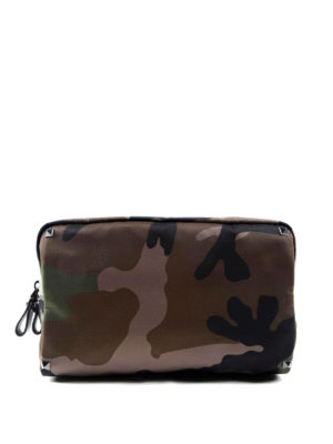 Valentino Garavani: Cases & Covers - Rockstud Camu print beauty case