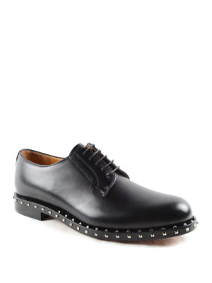 Valentino Garavani: classic shoes online - Rockstud Derby shoes