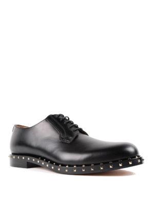 Valentino Garavani: classic shoes online - Soul Rockstud Derby shoes
