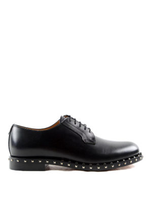 Valentino Garavani: classic shoes - Rockstud Derby shoes