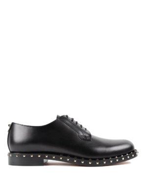 Valentino Garavani: classic shoes - Soul Rockstud Derby shoes