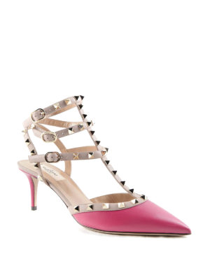 Valentino Garavani: court shoes online - Rockstud leather pumps