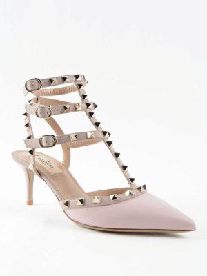 Valentino Garavani: court shoes online - Rockstud leather pumps